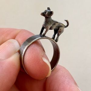 Jewelry - Jack Russell Terrier Ring in Sterling Silver